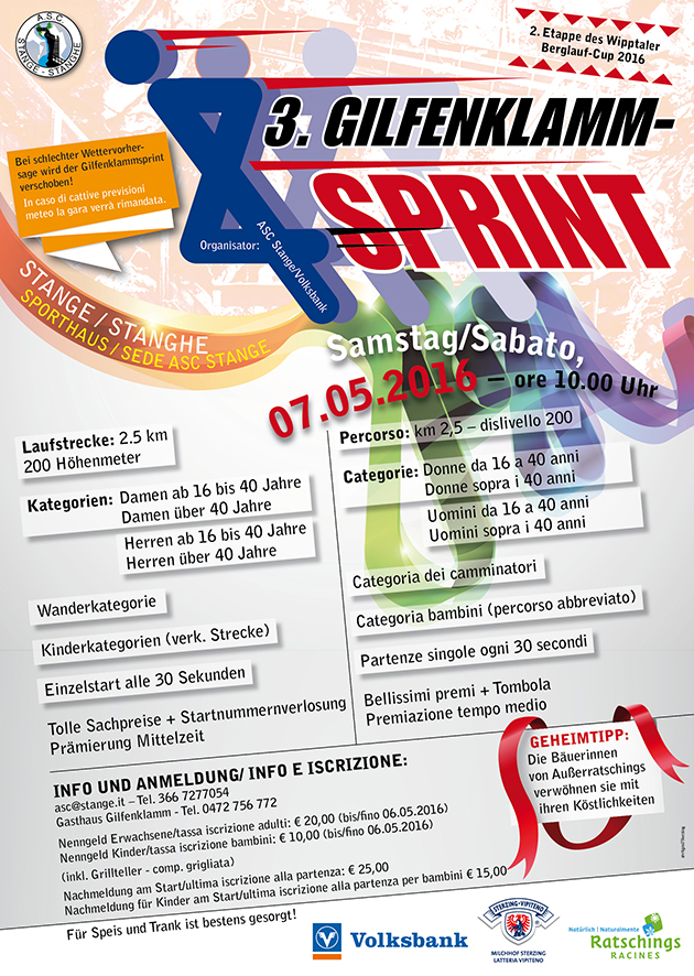 PlakatGilfenklammsprint2016